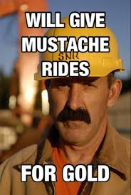 Mustache Ride Meme - thurber ifunny