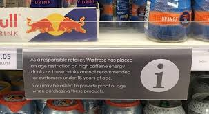 Meme Age - put me like age restriction for purchasing energy drinks drinks