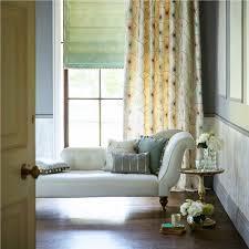 rideaux chambre adulte rideaux chambre adulte à motifs store en tissu vert pâle et