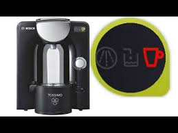 How to fix Bosch Tassimo Espresso machine Red light fault