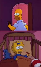 Simpsons Meme Generator - i hope you never say a word simpsons maggie homer meme generator