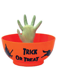 buy halloween candy animated monster hand in bowl