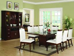 unique green dining room ideas two tone green dining room paint
