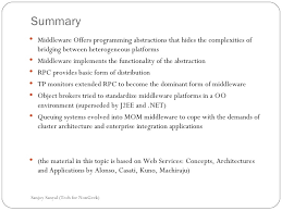 Resume Title Examples by Topic2 Understanding Middleware