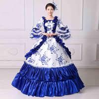 antoinette costume cheap antoinette costume blue free shipping
