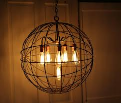 Industrial Crystal Chandelier Orb Chandelier Industrial Sphere Id Lights