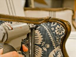 Change Upholstery On Chair by How To Reupholster An Arm Chair Hgtv