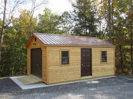 16x24 post and pier cabin shed foundation 101 the 5 most popular shed foundations byler barns