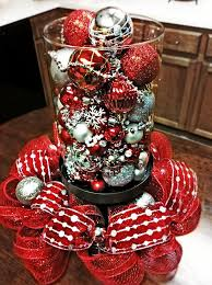 Christmas Table Decoration Images by 611 Best Christmas Centerpieces Images On Pinterest Christmas