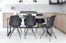 Rustic Industrial Dining Chairs Industrial Look Dining Set Apoemforeveryday