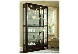 curio cabinet pulaskio cabinets chocolate cherry cabinet 0 0
