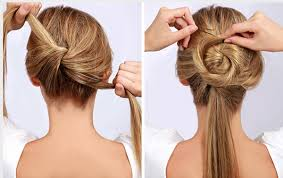 step by step easy updos for thin hair 10 easy wedding updo hairstyles with steps everafterguide