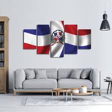 Flag Of The Dominican Republic Dominican Republic Flag Multi Panel Canvas Wall Art Elephantstock