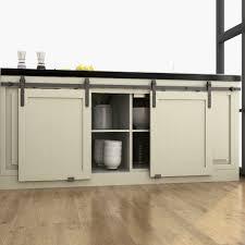 barn door for kitchen cabinets diyhd 48 60 70 mini wooden cabinet sliding barn door hardware to hang 2 door no cabinet