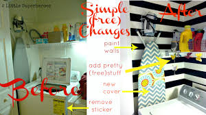 Vintage Laundry Room Decorating Ideas by Simple Laundry Room Makeovers Creeksideyarns Com