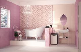 pale pink bathroom accessories