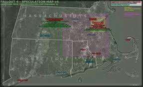 Fallout 3 Map by The Wertzone Fallout 4 Incoming