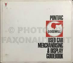 1966 pontiac air conditioning repair shop manual reprint
