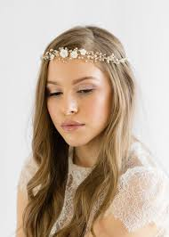 bridal headband and pearl bridal headband tania maras