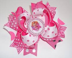 handmade hair paw patrol boutique handmade hair bow request your own