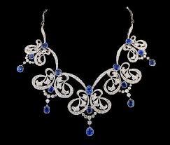 blue diamond necklace gem images 377 best sapphire necklaces images diamond jpg