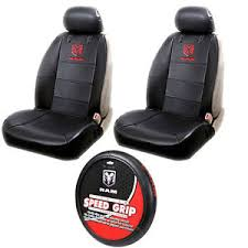 dodge seat covers for trucks 5pcs dodge ram logo car truck seat covers steering wheel cover