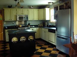 Painted Kitchen Floors by Milk Paint Kitchen Crowhill Studios Cheryl Hutto