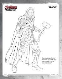 free printable avengers age of ultron coloring sheets hispana