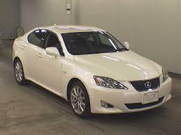 lexus is350 uk 2007 lexus is350 version l japanese used cars auction online