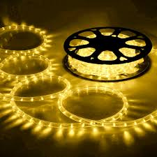 Outdoor Led Rope Lighting 120v Diy Led Rope Light Wire Home Outdoor