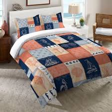 Seashell Queen Comforter Set Buy Coastal Seashell Bedding From Bed Bath U0026 Beyond