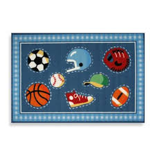 buy sports rug for kids from bed bath u0026 beyond