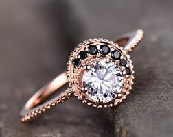 moon engagement ring etsy