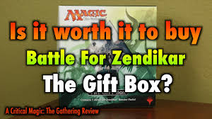 where can i buy a gift box mtg is it worth it to buy the battle for zendikar gift