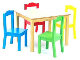 solid wood childrens table and chairs childrens table and chairs table with 2 chairs and stuffed animal