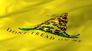 Dont Tread On Me Confederate Flag Feds Warn Gadsden Flag U003d Racial Harrassment Scv Oklahoma