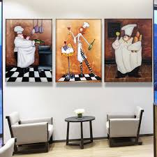 online shop modern european style hand painted 4 different chef