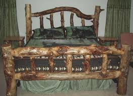 Country Bed Frame High Country Products Custom Aspen Log Furniture
