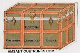 Washington travel trunks images Trunk makers pictures q z hms antique trunks jpg
