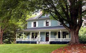 Farmhouse With Wrap Around Porch Relax On The Beautiful Wrap Around Porch Picture Of Twin Maples
