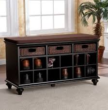 furniture terrific entryway bench home office storage drawer