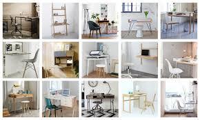 bureau etroit petit bureau gain de place 25 modèles pour votre ordinateur joli