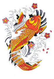 japanese koi fish tattoos type tattoos