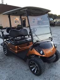2010 yamaha drive gas golf cart custom paint wheels seats lights