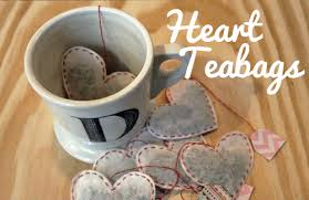 heart shaped tea bags unusually lovely create something create heart teabags