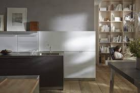 Kitchen Stainless Steel Cabinets Contemporary Kitchen Stainless Steel Wood Veneer Island