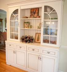 kitchen classy dining room cabinet with glass doors white