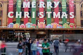 Cheap Christmas Decorations Melbourne by Christmas Celebrations In Melbourne Photos And Images Getty Images