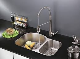 ruvati rvf1215b1st commercial style pullout spray kitchen faucet