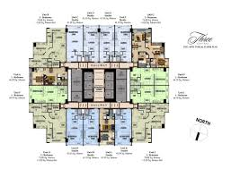Centralized Floor Plan by Three Central Megaworld Prime Condo Prime Property Listing